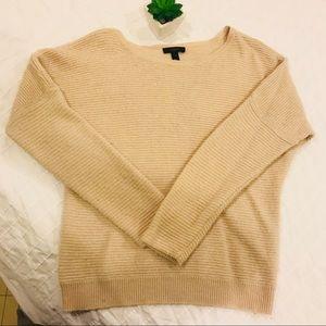 J. Crew beige sweater